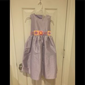 Lovely lavender party dress, size 5